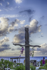 Coastal Cemetary Hanga Roa Easter Island Chile (Barbara Brundage) Tags: coastal cemetary hanga roa easter island chile