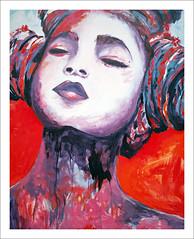 Painting from The Colorfield Performance (macfred64) Tags: filmanalog mediumformat 120 645 6x45 sloten the netherlands art painting event fujiga645wi fujinon45mmf4 kodak ektar100 colorfielperformance