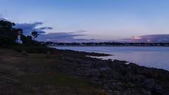Coucher de soleil sur le phare de Sainte Marine (morganelafond) Tags: