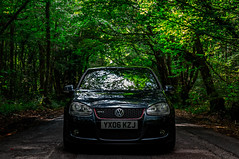 DRC MK5 1 (RevCheck Photography) Tags: volkswagen golf gti mk5 car vehicle transport motoring driving road outside outdoor nature tree trees forest love hobby colout green grey red