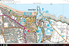 2018 0807 900 (Lucy's laptop) Memory-Map, on MM Windows app (Lucy Melford) Tags: microsoftsurfacebook whitby memorymap ordnance survey digital explorer map