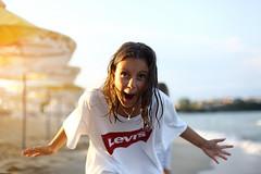 K. (N.D.K.K.) Tags: photography photo people photoshop portrait playa kayra joy bulgaria bokeh blacksea arte art action smile gente geotagged girl levis sozopol bg
