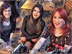 July 2018 - Sparkle weekend in Manchester (Girly Emily) Tags: crossdresser cd tv tvchix tranny trans transvestite transsexual tgirl tgirls convincing feminine girly cute pretty sexy transgender boytogirl mtf maletofemale xdresser gurl glasses dress canalstreet canalst manchester sparkle