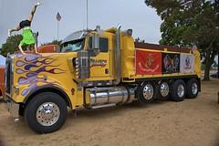One Big Powerful Truck (Scott 97006) Tags: truck massive powerful huge woman gymnastics big