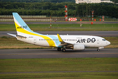 AIR DO B737-700(WL) JA14AN 001 (A.S. Kevin N.V.M.M. Chung) Tags: aviation aircraft aeroplane airport airlines boeing plane spotting newchitose cts hokkaido takeoff departure sky flying apron taxiway b737 b737700wl airdo