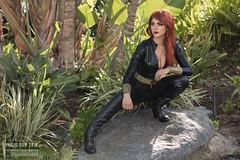 Black Widow Cosplay by Sequoia (Manny Llanura) Tags: black widow cosplay cosplayer sequoia san diego comic con 2018 manny llanura photography