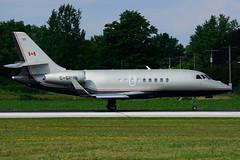 C-GOHB (Aviation Starlink) (Steelhead 2010) Tags: aviationstarlink dassault falcon f2000 biz yhm creg cgohb