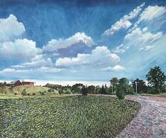 Summer Residency 2018 (Martin Beek) Tags: pearl exhibition walden painting residency art modern