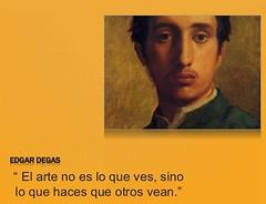 Edgar Degas (pryflores) Tags: artistas frases
