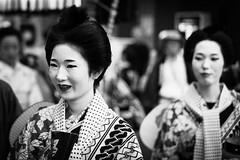 Maiko (Polylepis) Tags: festival japan hachioji matsuri tokyo blackandwhite geisha sonnar5518za dashi float parade sonnartfe1855 mono monochrome