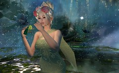 i am here in the water... it is magic (nicandralaval1) Tags: flowerdreams fashion fantasy frogprince firelight secondlife secondlifefashion boomerang gacha enchantment truth aisling persefona unkindness 7deadlyskins swank ~xtcposes~ bento mesh lelutka maitreya womenonlyhunt thelittlebat tlb nymphai event freebies gift