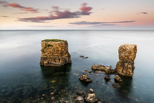Whitburn sea stacks