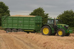 John Deere 6195R Tractor with a Broughan Engineering Mega HiSpeed Trailer (Shane Casey CK25) Tags: john deere 6195r tractor broughan engineering mega hispeed trailer traktor traktori tracteur trekker trator ciągnik winter barley jd green castletownroche grain harvest grain2018 grain18 harvest2018 harvest18 corn2018 corn crop tillage crops cereal cereals golden straw dust chaff county cork ireland irish farm farmer farming agri agriculture contractor field ground soil earth work working horse power horsepower hp pull pulling cut cutting knife blade blades machine machinery collect collecting nikon d7200