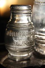Antique Mustard Jar - Morning Light (PhotonArchive) Tags: antique glass mustard bottle jar sunlight
