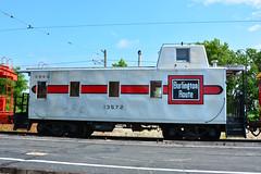 Illinois Ry Museum #13572 (Jim Strain) Tags: jmstrain train railroad railway museum illinois union burlington cbq caboose