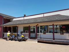 Day 6 - Miscouche General Store (Bobcatnorth) Tags: princeedwardisland canada summer 2018 pei cycling bicycle touring bicycletouring camping sightseeing