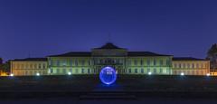 University of Hohenheim & the Ball of Light (kanaristm) Tags: balloflight light hohenheim university universityofhohenheim lightpainting kanaris kanarist kanaristm tkanaris tmkanaris copyright2018tmkanaris copyright2018kanaristm nikon d850 1424mmf28g longexposure bluehour ball denissmith