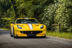 Tricolore stripe. (David Clemente Photography) Tags: ferrari ferrarif12 ferrarif12tdf f12 f12tdf tdf cars supercars hypercars v12 millemiglia nikonphotography photography