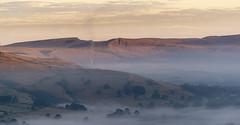Mam Tor (l4ts) Tags: landscape derbyshire peakdistrict darkpeak goldenhour sunrise hopevalley mamtor cementworks mist temperatureinversion dawn