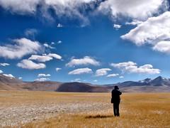 Photographing Tso Kar Landscape (pallab seth) Tags: tsokarlake lake ladakh jammukashmir india autumn landscape mountains himalayas highaltitudelake morning wetlandconservationreserve nature naturereserve