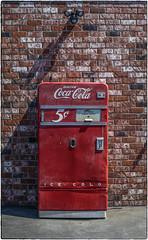 5¢ Coke Machine (NoJuan) Tags: coke cocacola cokemachine vintagecokemachine vintagesodamachine sodamachine sonya7withmanualfocuslens sonya7ii canonfd fotodioxadapter fotodiox lensadapter