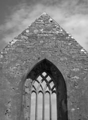 Burrishoole Abbey (pabs35) Tags: film believeinfilm mediumformat 120 blackandwhite bw ilford d76 mamiya m645 1000s mamiyam6451000s ilfordfp4plus fp4 fp4plus ireland mayo countymayo burrishoole abbey ruin