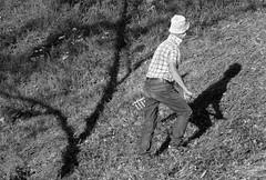 DER SCHATTENBAUER . THE SHADOWFARMER (LitterART) Tags: bauer farm heuen farmer fujifilm schatten shadows steiermark österreich