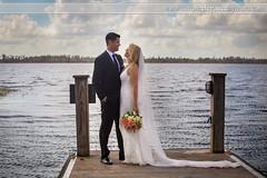 Bride and Groom on the Pier (Laura K Bellamy) Tags: wedding weddings bride groom couple portraits