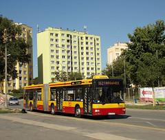 MAN NG313, #3916, MZA Warszawa (transport131) Tags: bus autobus ztm warszawa wtp man ng313 mza warsaw