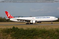 TC-JNZ (Joel@BSL) Tags: turkishairlines turkish a330 a330300 basel euroairport bsl thy tk