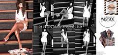 WESTSIDE. Sittin on Vogues @The Saturday Sale (Jennifer West.) Tags: westside vogues sitting poses