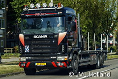 Scania R124GB 420  (2003)  NL  WRUNIT  180628-002-C6 ©JVL.Holland (JVL.Holland John & Vera) Tags: scaniar124gb4202003 nl wrunit friesland transport truck lkw lorry vrachtwagen vervoer netherlands nederland holland europe canon jvlholland
