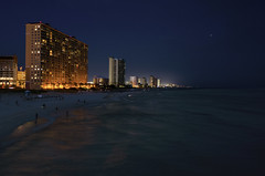 PCB Skyline (Virginia Sánchez Sánchez) Tags: panama city beach florida lights nikon d5100