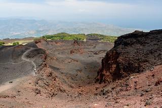 Volcanic trail, Mt Etna