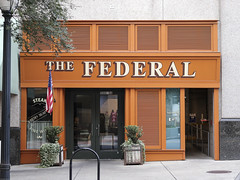 The Federal (N.the.Kudzu) Tags: urban city atlanta georgia midtown restaurant canondslr canoneflens lightroom