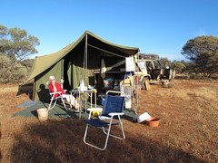 Mary in the #VelcroPalace Nth of Wiluna WA (spelio) Tags: australia remote wa western june 2011 pilbara travel