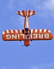 The Flying Circus (nickym6274) Tags: shuttleworthfamilyairshow 2018 shuttleworth oldwarden bedfordshire boeingstearman breitling wingwalkingteam theflyingcircus aeroplane airshow aircraft