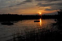 sunset (greenelent) Tags: lake sun sunset water michigan mi traversecity puremichigan beach 365 photoaday
