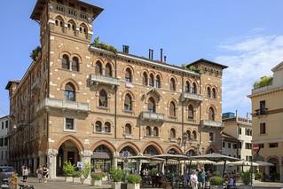 Piazza S. Vito in Treviso, Italy.