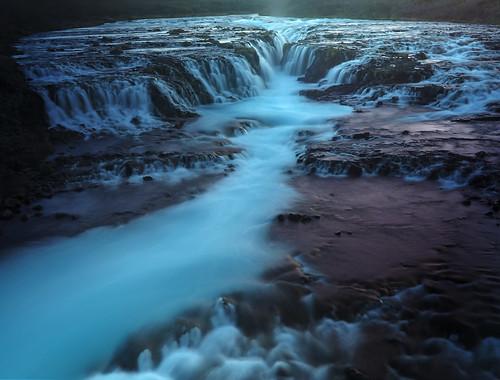 Soft Blue Braurfoss