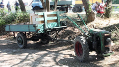 Holder single axle tractor (Schwanzus_Longus) Tags: eystrup german germany old classic vintage vehicle tractor flatbed trailer holder mono single one axle 10ps