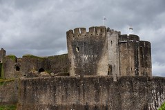 Caerphilly Castle (Laocoonte) Tags: caerphilly castello castle galles nex3n sony uk wales