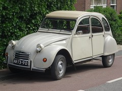 1972 Citroën 2CV4 (harry_nl) Tags: netherlands nederland 2018 everdingen citroën 2cv4 ah7390 sidecode1 import