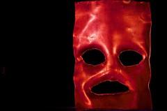 Behind the mask (Phancurio) Tags: mask illusion concaveconvex