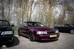 Volvo C70 (TimelessWorks) Tags: time less works timeless timelessworks tw auto car bil vehicle automobile automotive volvo swedish safe autox autocross track cone cones trackday racing race attack 850 t5 t4 d5 r t5r awd s60 v60 v70 v90 s70 s90 940 240 140 142 242 340 480 netherlands lelystad midlands circuit racecar becauseracecar c70 modified tuned aftermarket sunny summer spring day
