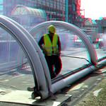 Sloop dak metro-station Alexander 3D thumbnail