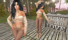DarkFire Shaula (Peaches Whimsy) Tags: darkfire reign lic letre truth theskinnery maitreya catwa virtual girl avatar secondlife sl fashion