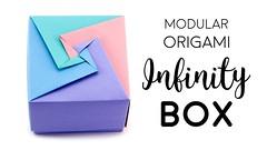Modular Origami Box Tutorial - Infinity Lid - Paper Kawaii (paperkawaii) Tags: origami instructions paperkawaii papercraft diy how video youtube tutorial