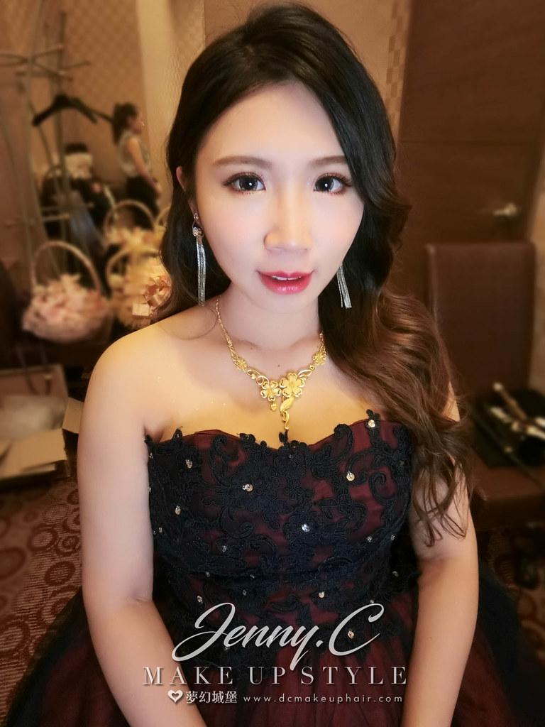 【新秘蓁妮】bride芝瓊 訂結婚造型 / 豐原江屋婚宴會館