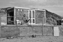 Tough Afternoon at work (James Mans) Tags: nikon d5500 beach beaches uk britain north devon saunton sands sand busy day work sunshine sigma sigma1750 175028 hut chill peace chair feet up